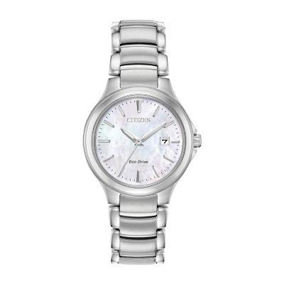 Citizen Womens Silver Tone Bracelet Watch-Ew2520-56y