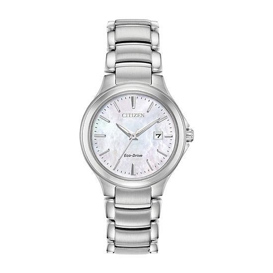 Citizen Chandler Womens Silver Tone Bracelet Watch-Ew2520-56y