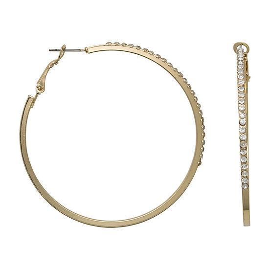 Bold Elements 55mm Hoop Earrings