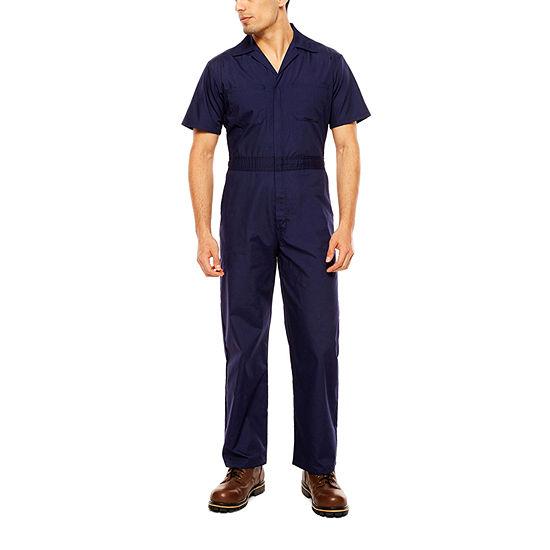 Walls Short Sleeve Workwear Coveralls