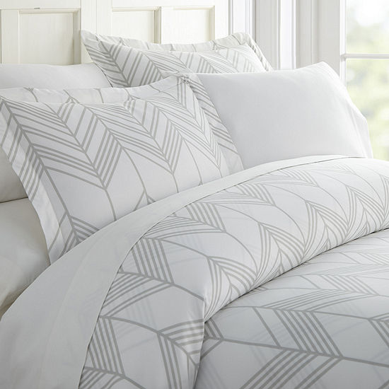 Casual Comfort Ultra Soft Alps Chevron Duvet Set