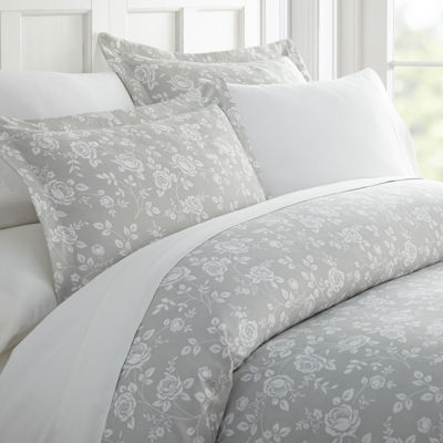 Casual Comfort Premium Ultra Soft Rose Gray Duvet Cover Set