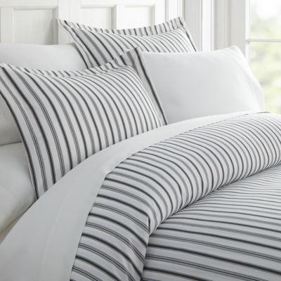 Casual Comfort Premium Ultra Soft Vertical Dreams  Duvet Cover Set