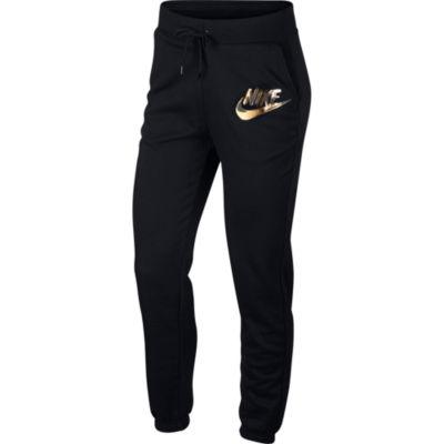 Nike Metallic Logo Jogger Womens Workout Pant