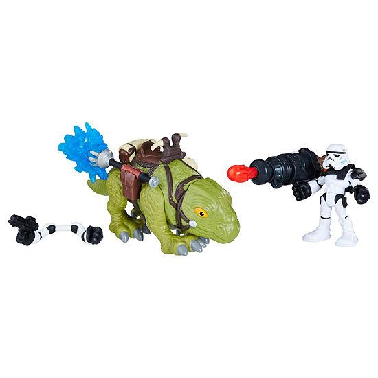 Star Wars Galactic Heroes Sandtrooper And Dewback