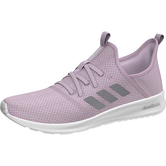 adidas Cloudfoam Pure K Sneakers Lace-up - Big Kids Girls - JCPenney f9b667652