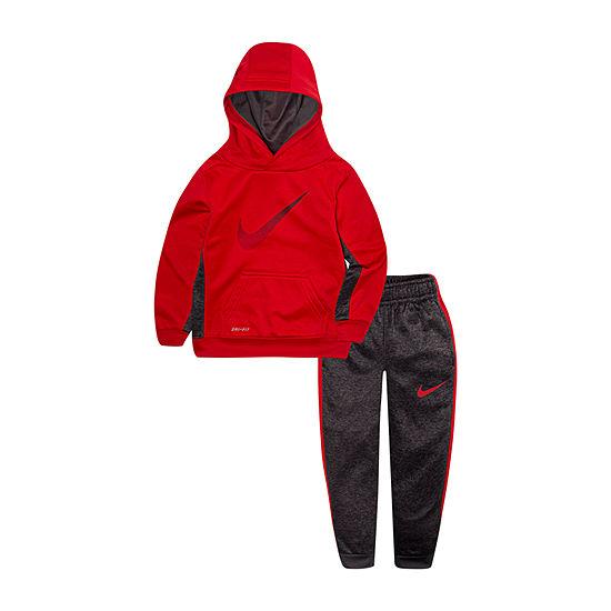 Nike Boys 2-pc. Logo Pant Set Toddler