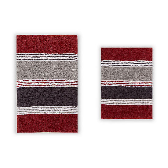 Penumbra Home Club Stripe 2 Pc Bath Rug Set Jcpenney