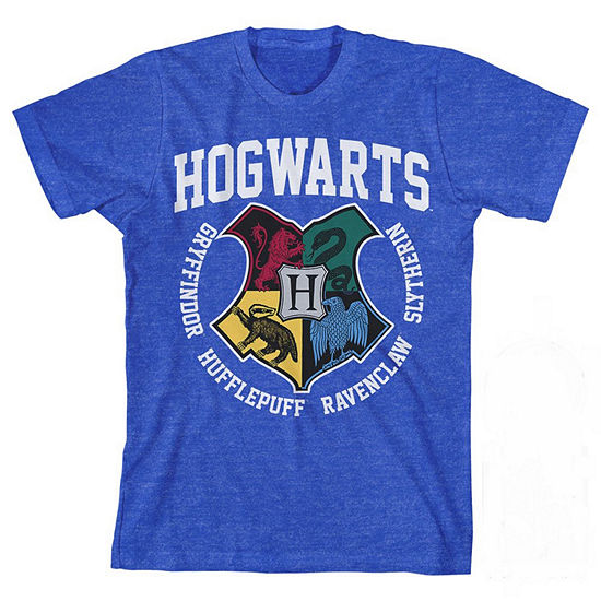 Hogwarts Boys Crew Neck Short Sleeve Harry Potter Graphic T-Shirt - Preschool / Big Kid
