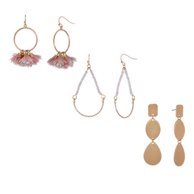 Bijoux Bar Box Trio Ears Drop Earrings