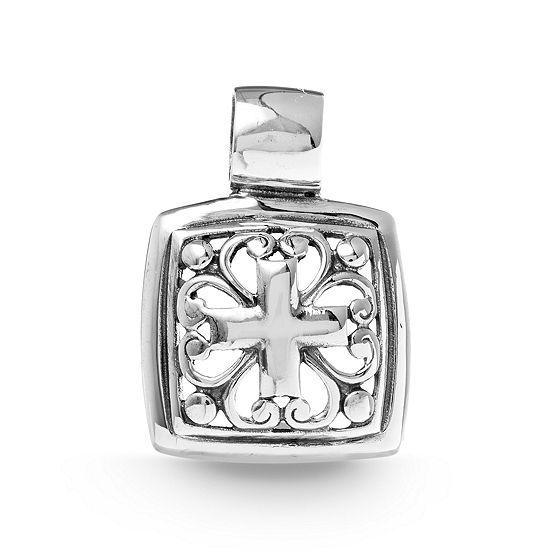 Willowbird Womens Sterling Silver Cross Pendant