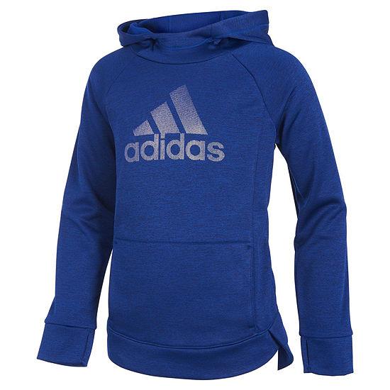 adidas Girls Lightweight Jacket-Big Kid