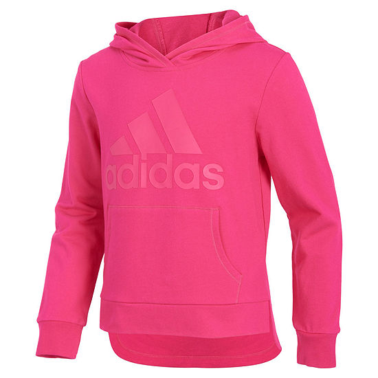 Adidas Logo Hoodie Big Kid Girls