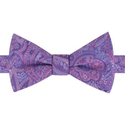 Stafford Paisley Bow Tie