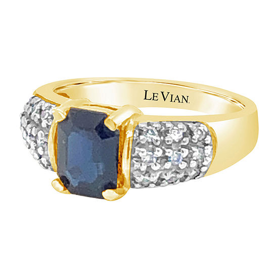 Le Vian Grand Sample Sale™ Ring featuring Blueberry Sapphire™ Nude Diamonds™ set in 14K Honey Gold™
