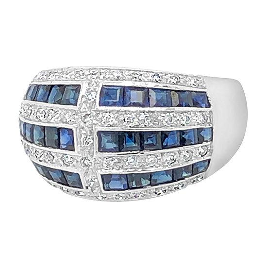 Le Vian Grand Sample Sale™ Ring featuring Blueberry Sapphire™ Vanilla Diamonds® set in 18K Vanilla Gold®