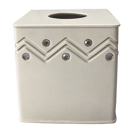 Popular Bath Diamond Wave Tissue Box Cover