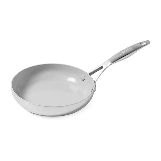 "GreenPan Venice Pro Stainless Steel Ceramic 8""  Non-Stick Frying Pan"