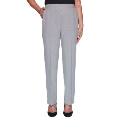 Alfred Dunner Riverside Drive Womens Straight Pull-On Pants