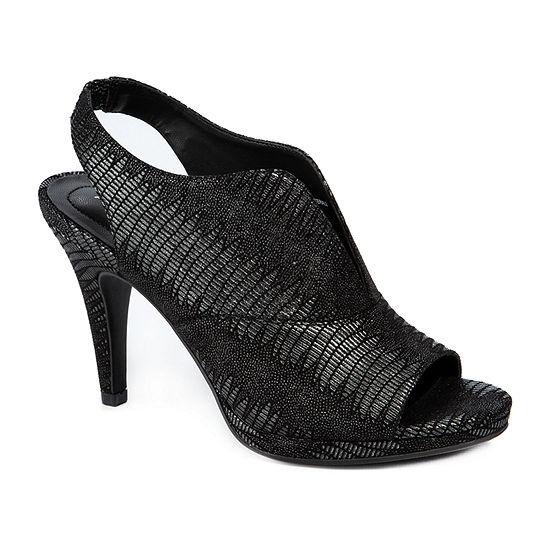 Andrew Geller Womens Tala Heeled Sandals