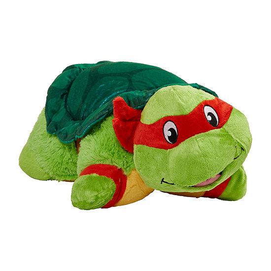 Pillow Pets Nickelodeon Tmnt Raphael Stuff Animal Plush Toy