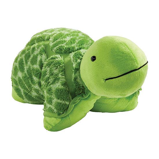 Pillow Pets Signature Teddy Turtle Stuff Animal Plush Toy