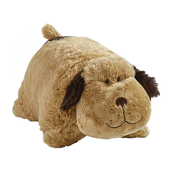 Pillow Pets Signature Jumboz  Snuggly Puppy Oversized Plush Toy