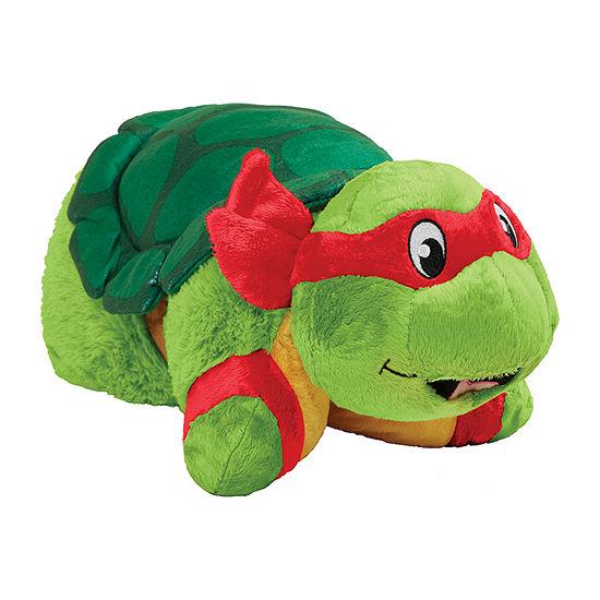 Pillow Pets Jumboz Nickelodeon Tmnt Raphael Oversized Plush Toy