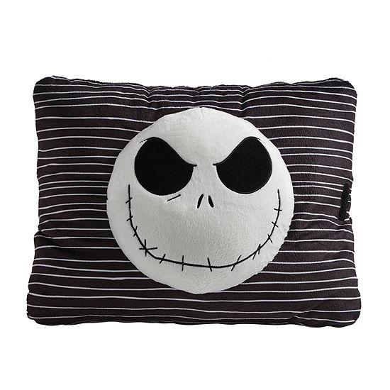 Pillow Pets Disney Black Jack Skellington Stuff Animal Plush Toy