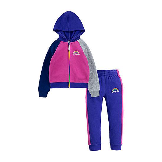 Crayola Girls 2-pc. Pant Set Preschool