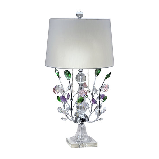 Dale Tiffany Yves Blossom Crystal Crystal Table Lamp