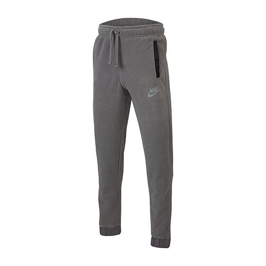 Nike Boys Mid Rise Tapered Pull-On Pants - Big Kid