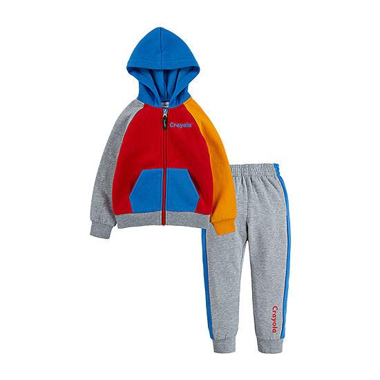 Crayola Boys 2-pc. Pant Set Preschool