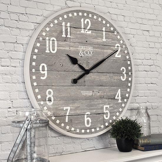 Firstime Arlo Gray Wall Clock
