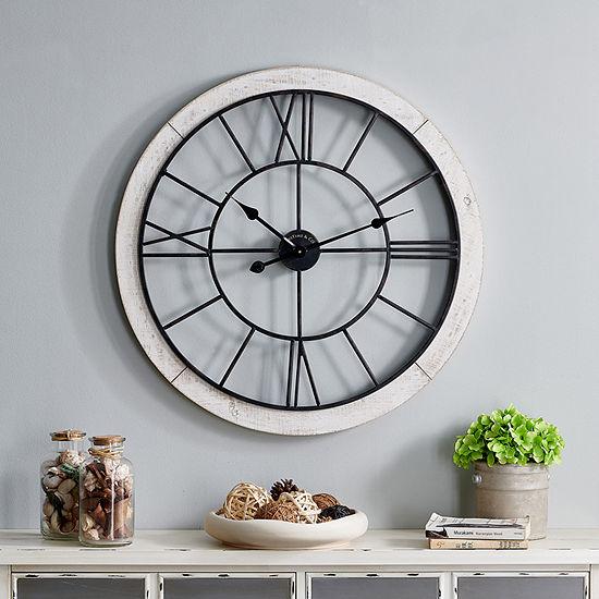 Firstime Timeworn Cottage Wall Clock