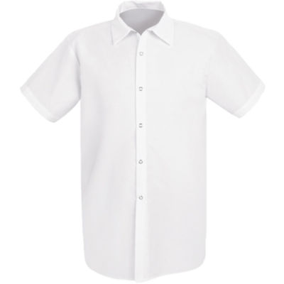 Chef Designs® Short-Sleeve Kitchen Shirt–Big & Tall