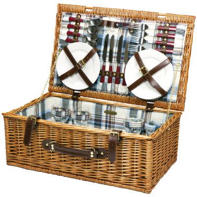 Picnic Time® Newbury Picnic Basket for Four