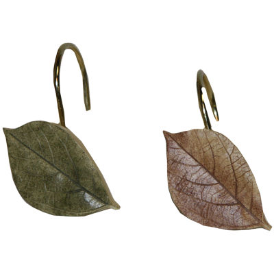 Bacova Sheffield Shower Curtain Hooks