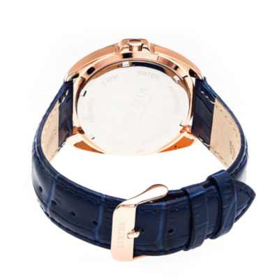 Bertha Womens Blue Strap Watch-Bthbr6308