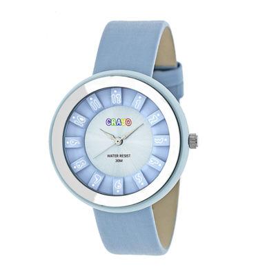Crayo Unisex Blue Strap Watch-Cracr3405