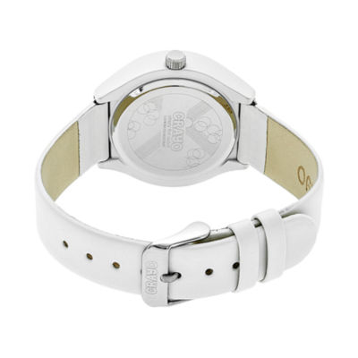 Crayo Unisex White Strap Watch-Cracr3501