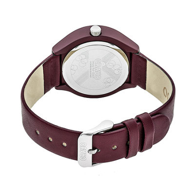 Crayo Unisex Red Strap Watch-Cracr3503