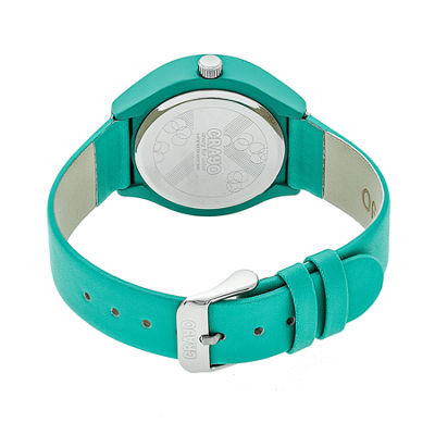 Crayo Unisex Blue Strap Watch-Cracr3505