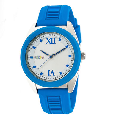 Crayo Unisex Blue Strap Watch-Cracr3604
