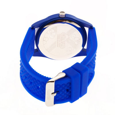 Crayo Unisex Blue Strap Watch-Cracr3704