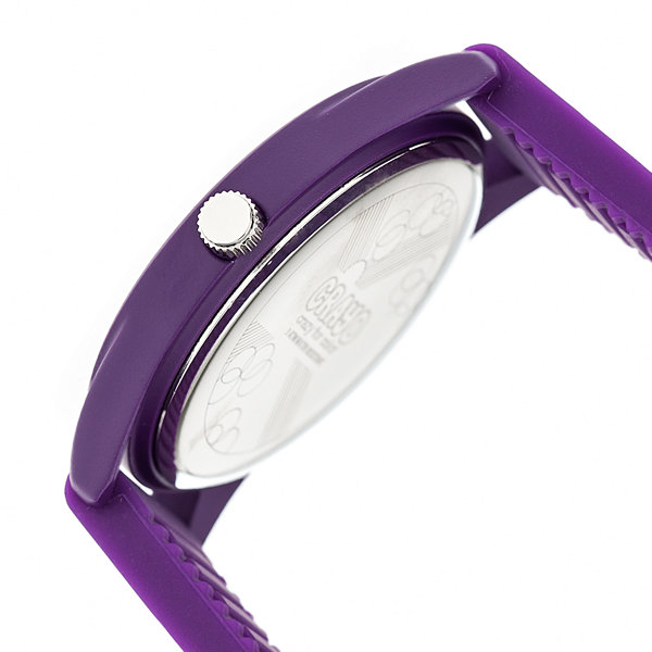 Crayo Unisex Purple Strap Watch-Cracr3705