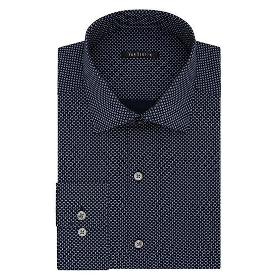 Van Heusen Slim Fit Flex Collar Long Sleeve Dress Shirt