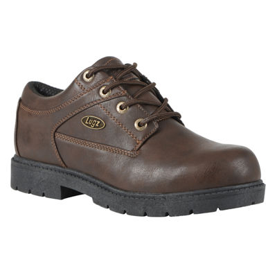 Lugz Mens Savoy Lace Up Slip Resistant Work Boots Lace-up