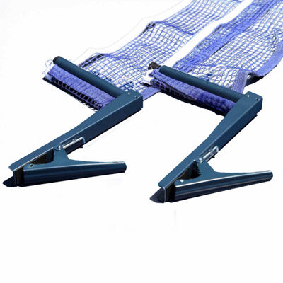 Hathaway Deluxe Table Tennis EZ Clamp Clip-On Post & Net Set