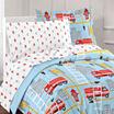 Dream Factory Dream Big Firetruck Comforter Set